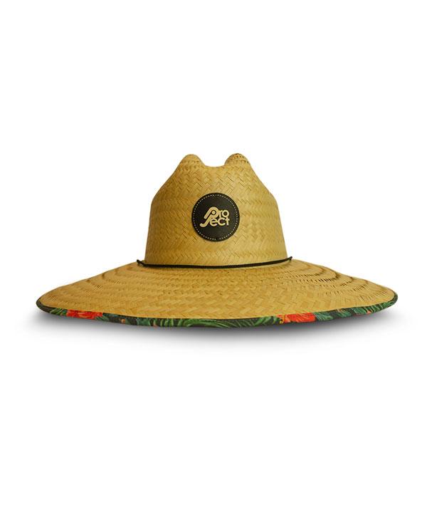 Chapéu de Palha Hibisco - Proteja-se do Sol Com Estilo - Project ... b4781ddb9bd