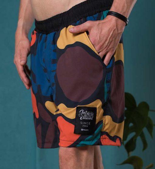 Abstract Summer Shorts